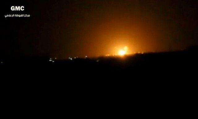 Israeli Defense Forces Destroy Arms Depot